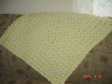 Easy Crochet Pattern: Shell Look Baby Blanket (Crochet)