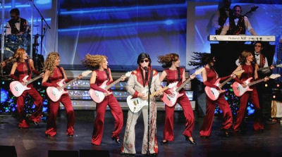 24K Gold - Family Music Show Featuring Elvis, 50-60's, Doo Wop, Country, Patriotic, Comedy, Special Costumes and Choreography, Light Show and High Energy!